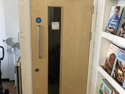 Fire door installation by Aran Fire Protection